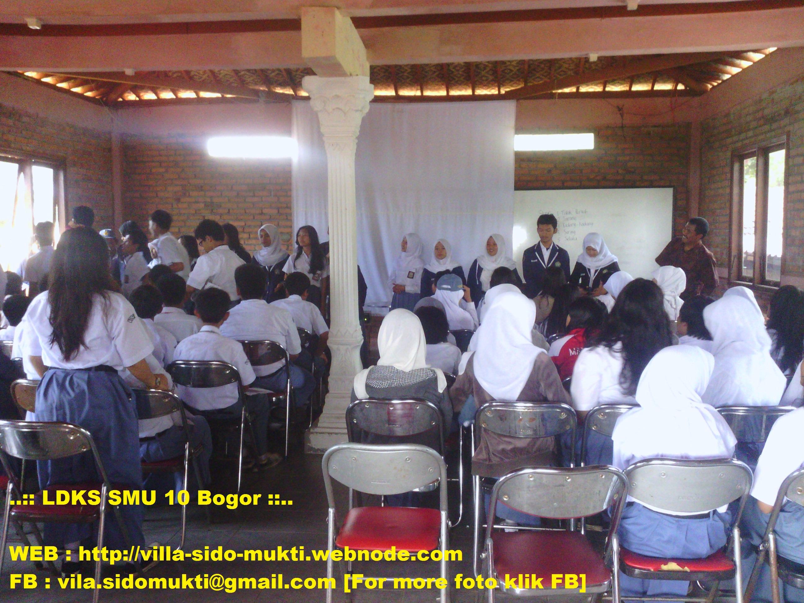 LDKS SMU 10 Bogor [Villa Sido Mukti, 22 - 23 September 2012]